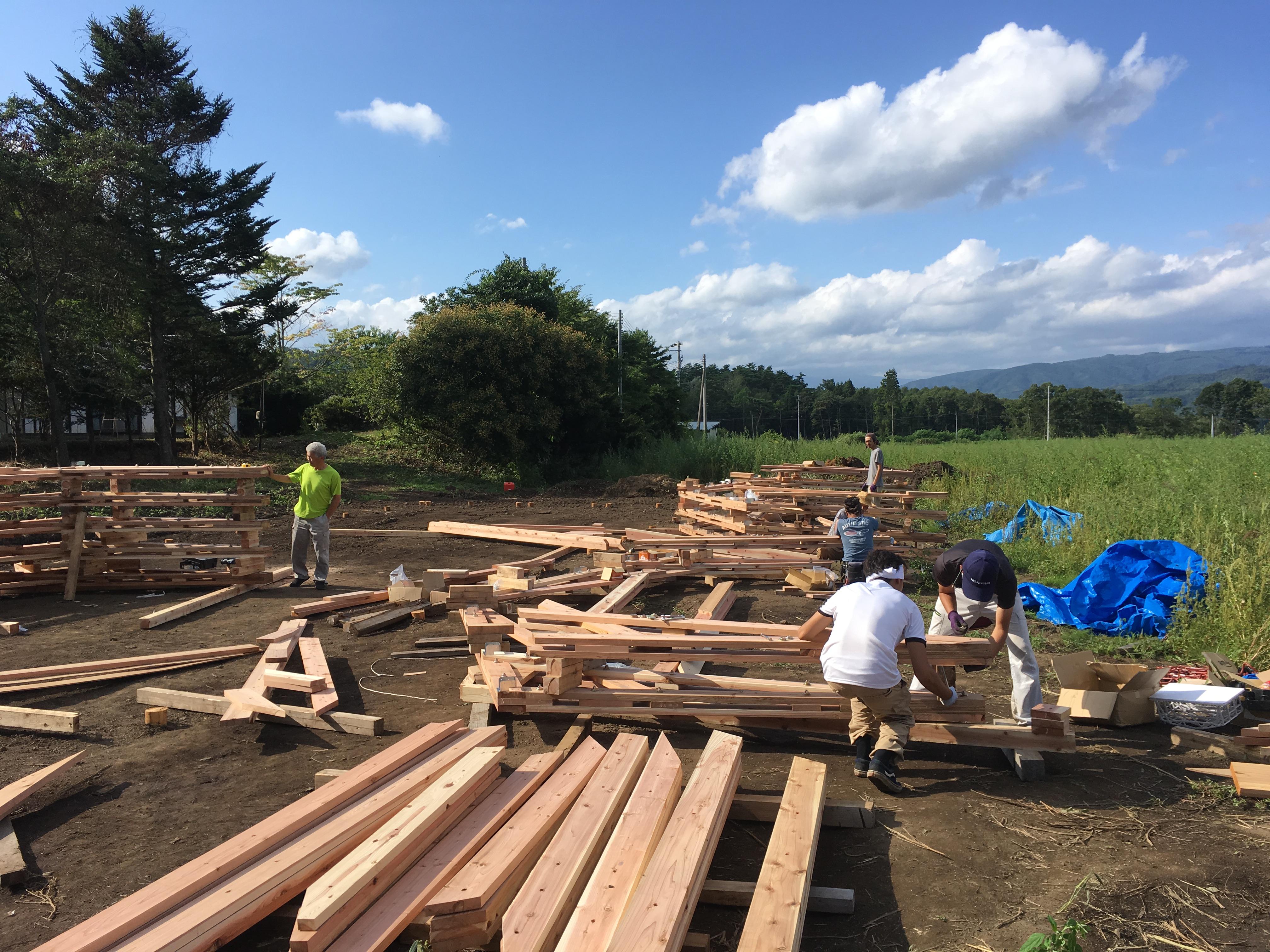第22回木材活用コンクール 部門賞 第2部門賞「遠野木造温室」